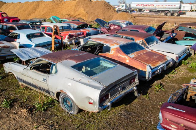 005 Colorado Auto Parts Junkyard Musclecars Classics Wrecking Yard Mach1 Mustang Cougar