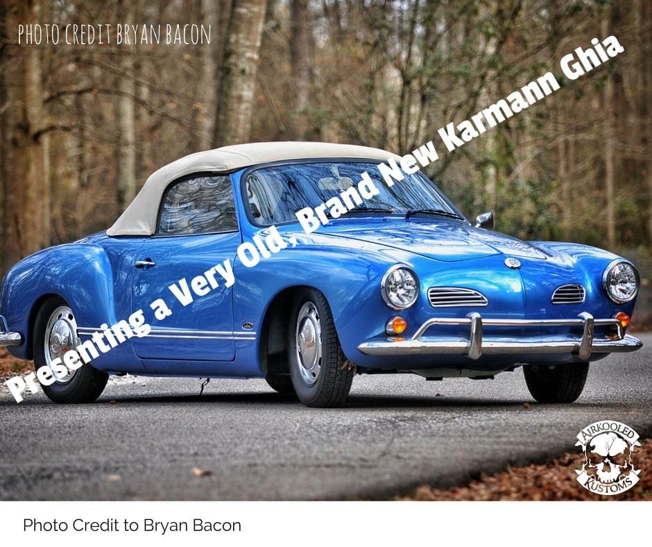How to Buy a Karmann Ghia