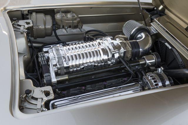 1962 Chevy Corvette Engine Bay