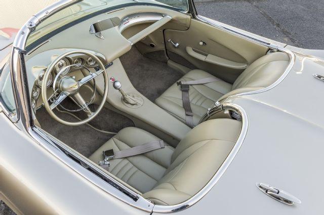 1962 Chevy Corvette Interior