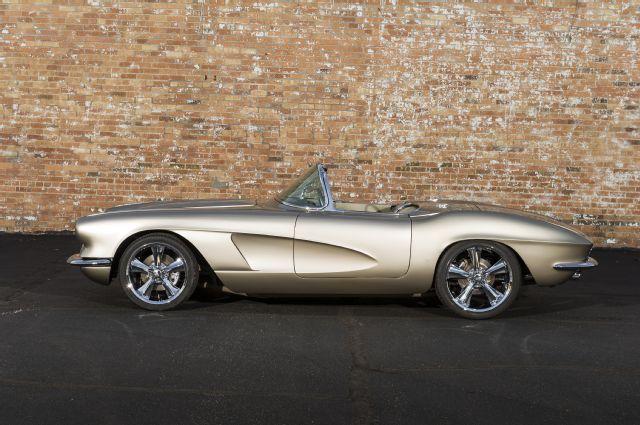 1962 Chevy Corvette Side View