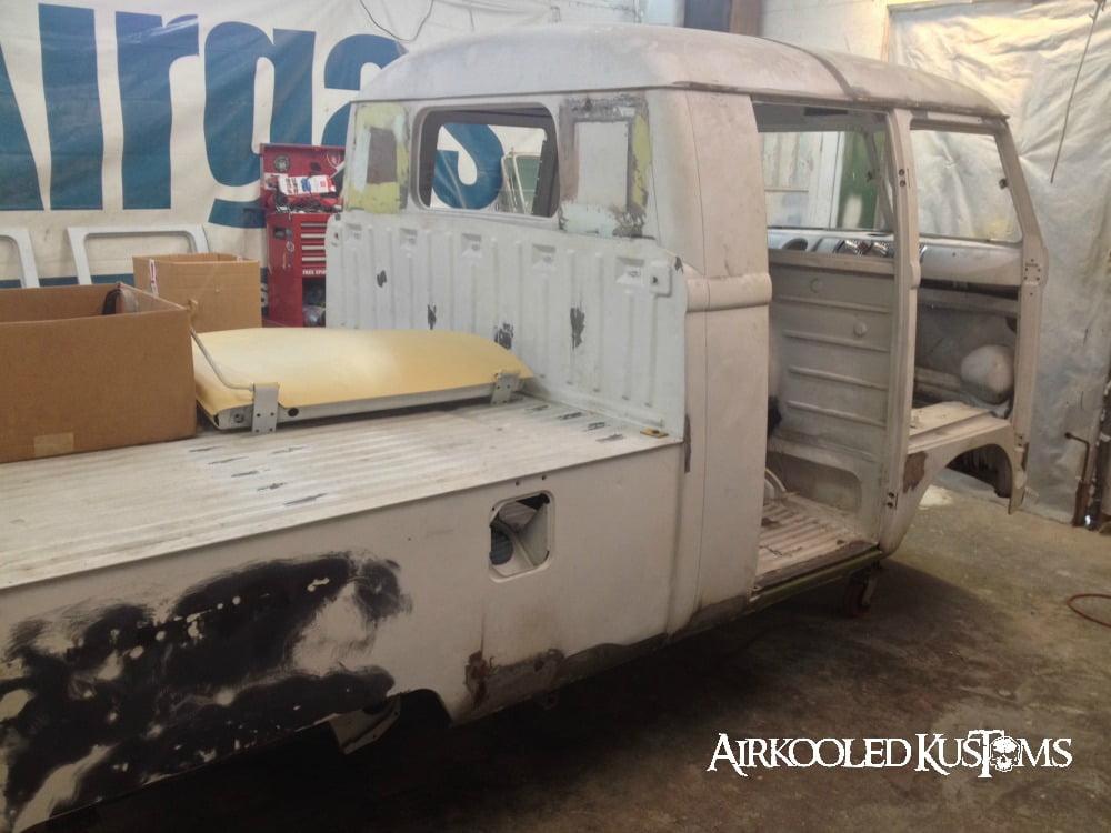 Custom VW Bus Restoration