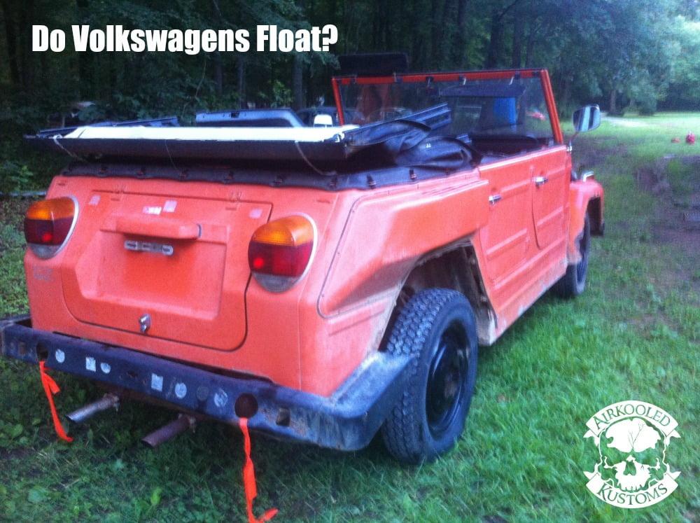 Do Volkswagens Float?