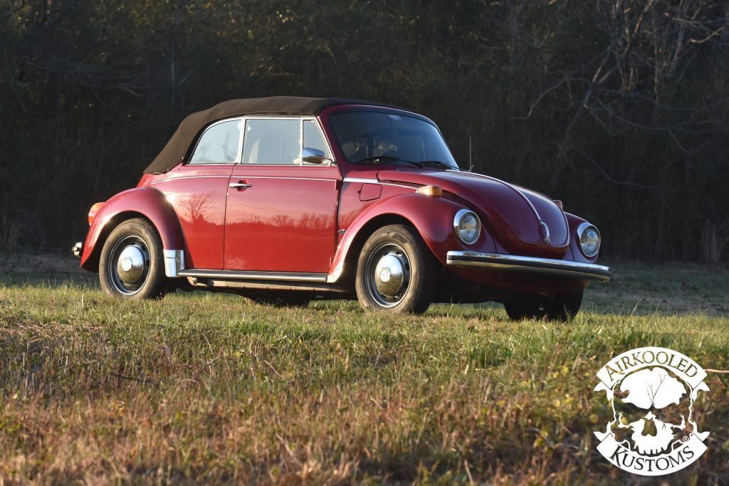 1973 VW Super Beetle Convertible