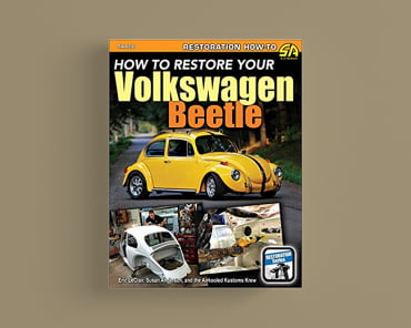 How to Restore Your Volkswagen Beetle book cover