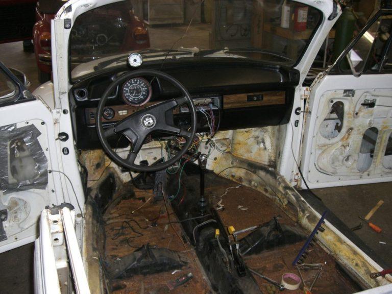 1977 VW Super Beetle Convertible