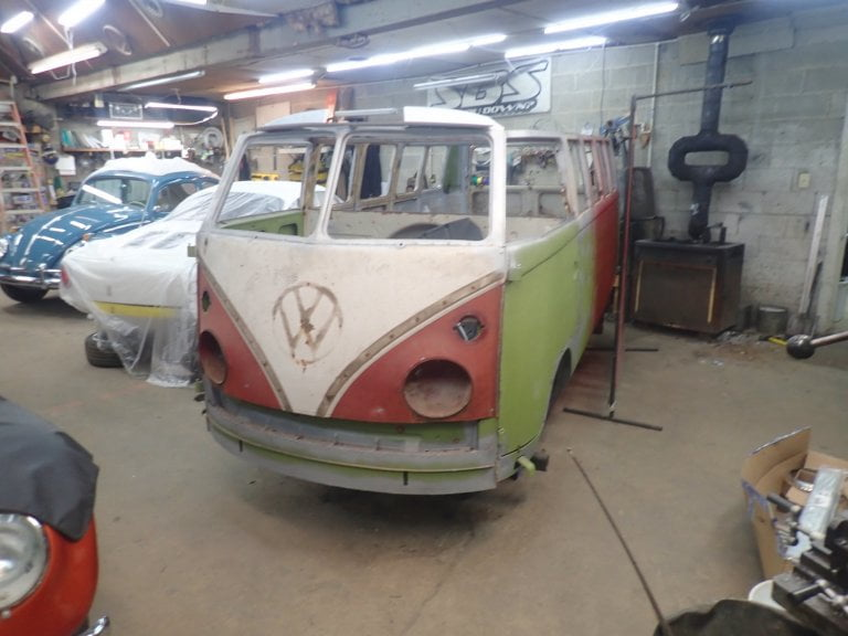 1967 VW 21-Window Ragtop Bus